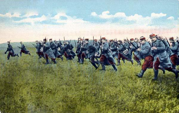 French infantry in 1914