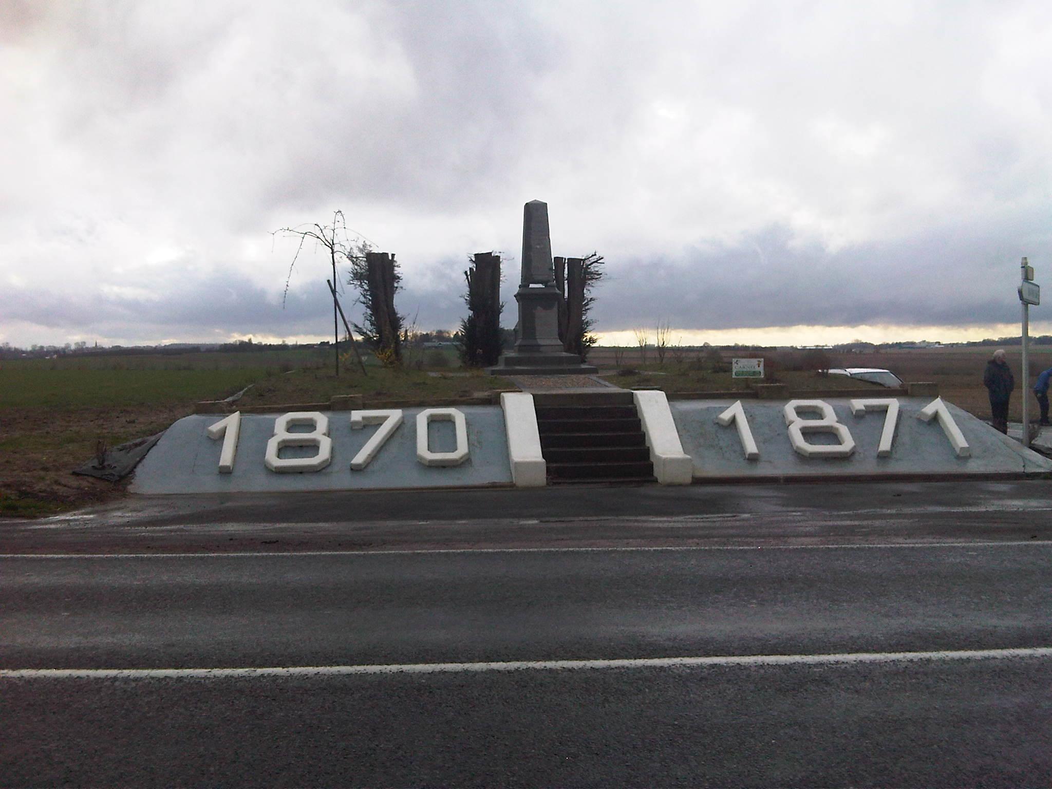 1870-71 memorial near Bapaume