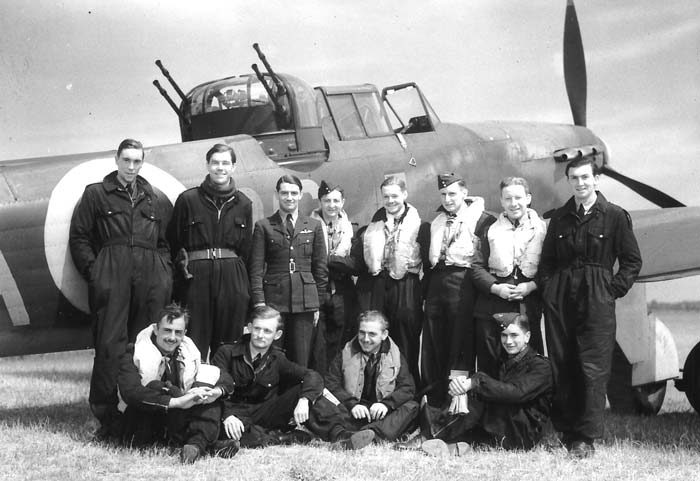 The Bravest of the Few?   A group of aircrew from No 264 Sqn, the  unit with the highest aircrew mortality in Fighter Command during the Battle of Britain. (wikipedia Commons)
