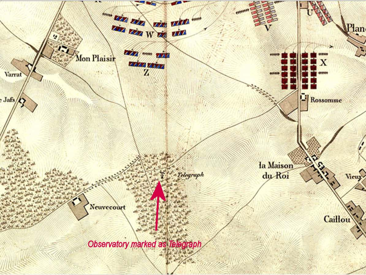 Extract from Wagner's Map