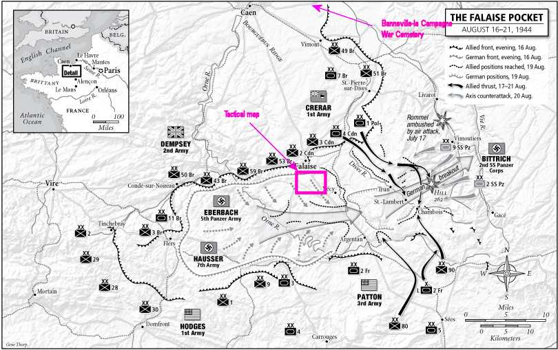 Falaise Gap 16-21 Aug 1944 (Atkinson)