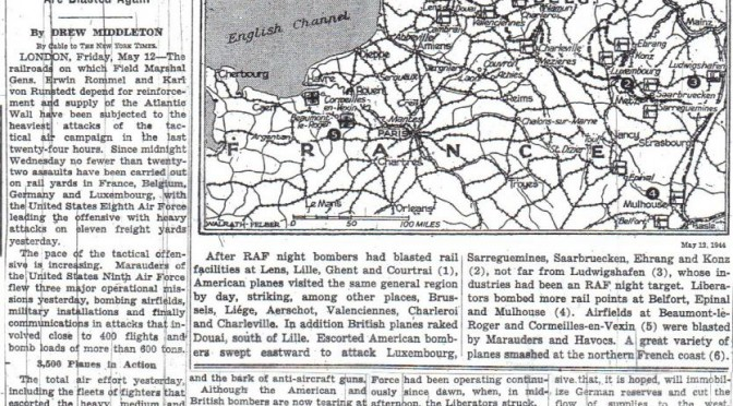 13 MAY 1944 RAF BOMBER COMMAND RAID ON LOUVAIN/ LEUVEN