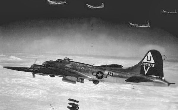 12 May 1944 8th Air Force Hit the Oil Targets