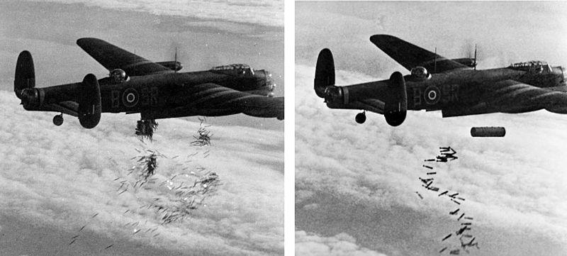 800px-Lancaster_I_NG128_Dropping_Load_-_Duisburg_-_Oct_14_-_1944