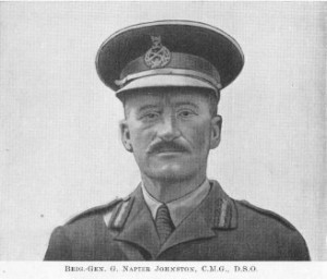 Brigadier G N Johnston DSO