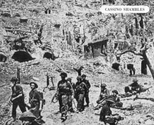 The 1/4th Essex Regiment   fought at Monte Cassino