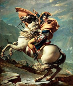 409px-David_-_Napoleon_crossing_the_Alps_-_Malmaison1