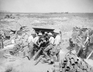 18 Pdr Gun battle pozieres ridge Somme 1916