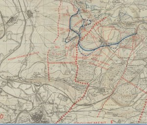 Verdun Right bank 23 June 1916