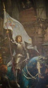 Joan of Arc the inspiration for Petain;s Courage, on les auras""