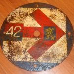 Image of Route marker for 94 Field Regiment 43rd Wessex Division