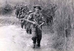 PIcture of oldiers from 6th South West Borderers Burma 1944