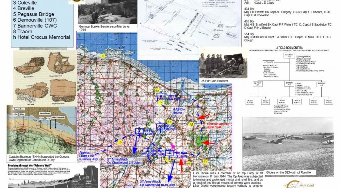"SOUTH NOTTS HUSSARS BATTLEFIELD STUDY NORMANDY 2014 ""PAYBACK FOR KNIGHTSBRIDGE"""