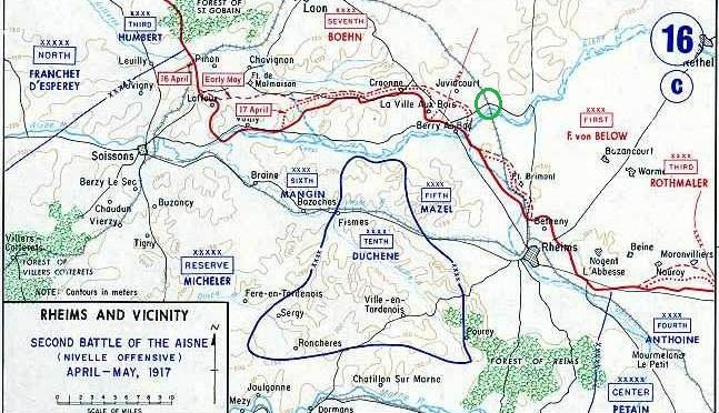 The Nivelle Offensive: Second Battle of the Aisne (16 April – 9 May 1917)